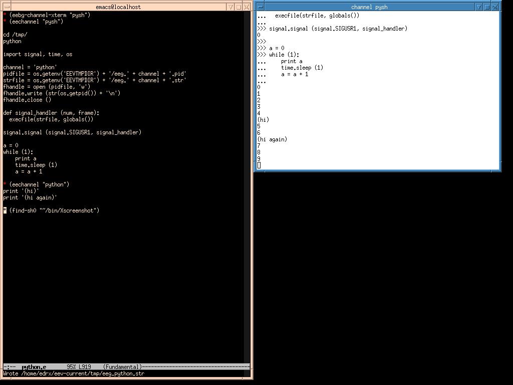 e/python e (htmlized)